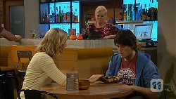 Georgia Brooks, Sheila Canning, Chris Pappas in Neighbours Episode 6997