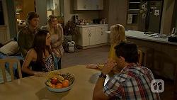 Daniel Robinson, Paige Novak, Amber Turner, Lauren Turner, Matt Turner in Neighbours Episode 6998