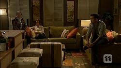 Karl Kennedy, Susan Kennedy, Nate Kinski in Neighbours Episode 6999