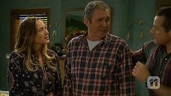 Sonya Rebecchi, Karl Kennedy, Toadie Rebecchi in Neighbours Episode 7000