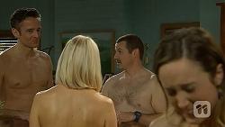 Niklas Kruger, Gretchen Kruger, Toadie Rebecchi, Sonya Rebecchi in Neighbours Episode 7000