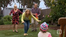 Sheila Canning, Georgia Brooks, Karl Kennedy, Nell Rebecchi in Neighbours Episode 7000