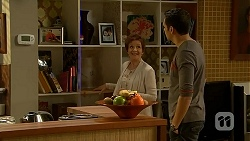 Susan Kennedy, Nate Kinski in Neighbours Episode 7000