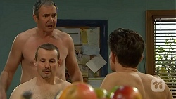Karl Kennedy, Toadie Rebecchi, Niklas Kruger in Neighbours Episode 7000