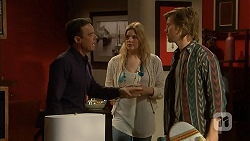 Paul Robinson, Amber Turner, Daniel Robinson in Neighbours Episode 7001