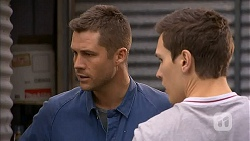 Mark Brennan, Josh Willis in Neighbours Episode 7001