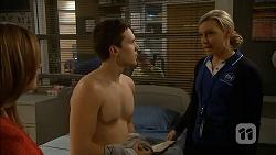 Terese Willis, Josh Willis, Georgia Brooks in Neighbours Episode 7002
