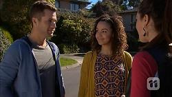 Mark Brennan, Alice Azikiwe, Paige Novak in Neighbours Episode 7002