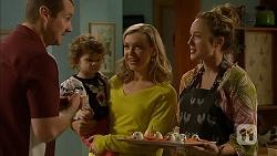 Toadie Rebecchi, Nell Rebecchi, Georgia Brooks, Sonya Mitchell in Neighbours Episode 7004