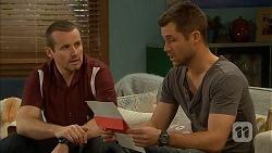 Toadie Rebecchi, Mark Brennan in Neighbours Episode 7004