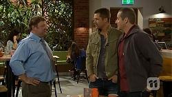 Bob Kind, Mark Brennan, Toadie Rebecchi in Neighbours Episode 7004