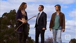 Rain Taylor, Paul Robinson, Daniel Robinson in Neighbours Episode 7004