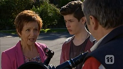 Susan Kennedy, Bailey Turner, Karl Kennedy in Neighbours Episode 7004