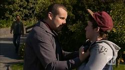 Mark Brennan, Toadie Rebecchi, Bryce Bukowski in Neighbours Episode 7005