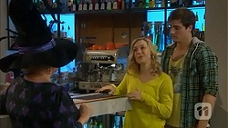 Sheila Canning, Georgia Brooks, Kyle Canning in Neighbours Episode 7006
