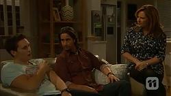 Josh Willis, Brad Willis, Terese Willis in Neighbours Episode 7006