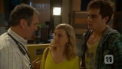 Karl Kennedy, Georgia Brooks, Kyle Canning in Neighbours Episode 7006