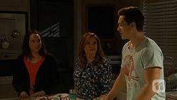 Imogen Willis, Terese Willis, Josh Willis in Neighbours Episode 7006