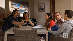 Brad Willis, Terese Willis, Imogen Willis, Toadie Rebecchi, Josh Willis in Neighbours Episode 7006