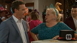 Paul Robinson, Sheila Canning in Neighbours Episode 7007