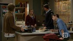 Daniel Robinson, Amber Turner, Matt Turner, Bailey Turner in Neighbours Episode 7008