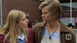 Amber Turner, Daniel Robinson in Neighbours Episode 7008