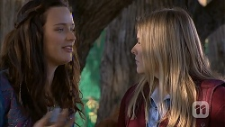 Rain Taylor, Amber Turner in Neighbours Episode 7008