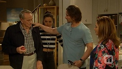 Doug Willis, Paige Novak, Brad Willis, Terese Willis in Neighbours Episode 7009