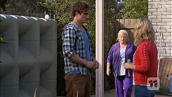 Kyle Canning, Sheila Canning, Georgia Brooks in Neighbours Episode 7010