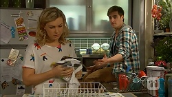 Georgia Brooks, Kyle Canning in Neighbours Episode 7010