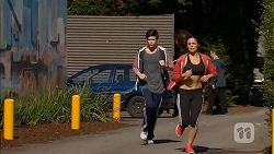Bailey Turner, Paige Smith in Neighbours Episode 7011