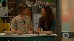 Daniel Robinson, Rain Taylor in Neighbours Episode 7012