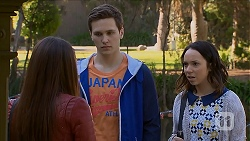Paige Smith, Josh Willis, Imogen Willis in Neighbours Episode 7013