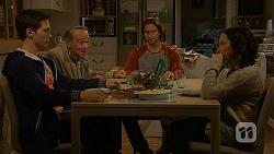 Josh Willis, Doug Willis, Brad Willis, Imogen Willis in Neighbours Episode 7013