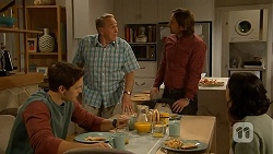 Josh Willis, Doug Willis, Brad Willis, Imogen Willis in Neighbours Episode 7014
