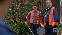 Josh Willis, Barry Burdett in Neighbours Episode 7014