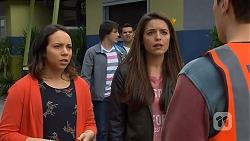 Imogen Willis, Chris Pappas, Nate Kinski, Paige Smith, Josh Willis in Neighbours Episode 7014