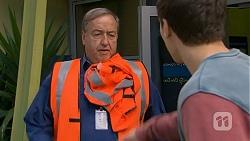 Barry Burdett, Josh Willis in Neighbours Episode 7014