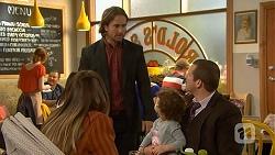 Sonya Rebecchi, Brad Willis, Nell Rebecchi, Toadie Rebecchi in Neighbours Episode 7014