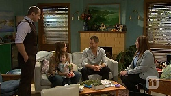 Toadie Rebecchi, Sonya Rebecchi, Nell Rebecchi, Mark Brennan, Isabella Pinter in Neighbours Episode 7014