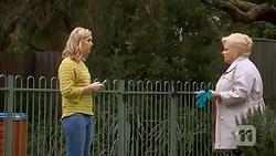 Georgia Brooks, Sheila Canning in Neighbours Episode 7015