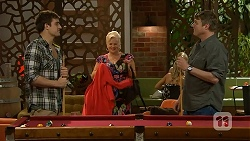 Kyle Canning, Sheila Canning, Gary Canning in Neighbours Episode 7016