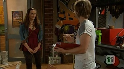 Rain Taylor, Daniel Robinson in Neighbours Episode 7016