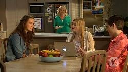 Rain Taylor, Lauren Turner, Amber Turner, Bailey Turner in Neighbours Episode 7016