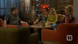 Gary Canning, Kyle Canning, Georgia Brooks, Sheila Canning in Neighbours Episode 7016