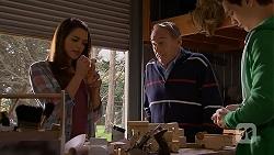 Paige Novak, Doug Willis, Josh Willis in Neighbours Episode 7017