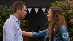 Mark Brennan, Rain Taylor in Neighbours Episode 7018