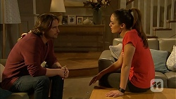 Brad Willis, Paige Smith in Neighbours Episode 7018