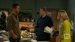 Mark Brennan, Toadie Rebecchi, Georgia Brooks in Neighbours Episode 7020