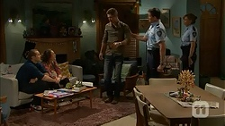 Toadie Rebecchi, Sonya Rebecchi, Mark Brennan, Matt Turner in Neighbours Episode 7021
